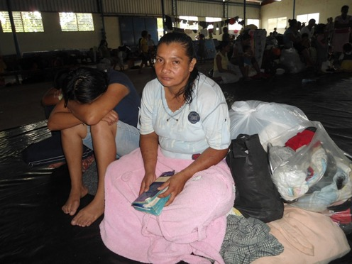 Following floods international aid agencies move to help El Salvador