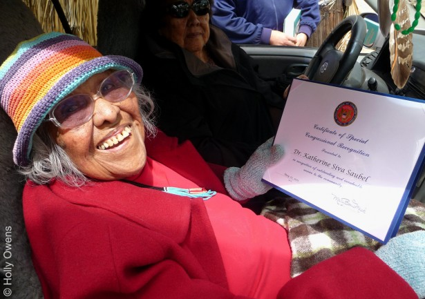 Dr. Katherine Siva Saubel, One of the Few Fluent in Cahuilla, Walks On