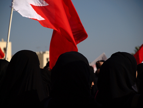 Excessive use of tear gas endangers women protesters Bahrain