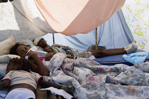 Sexual violence in Haiti's displacement camps still 'rampant' says new report