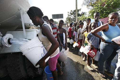 Clean water infrastructure desperately needed in Haiti say IDP advocates