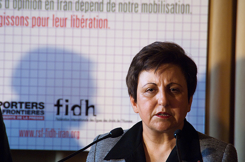 Nobel Peace Laureate with FIDH/LDHHI demand medical rights for Iran prisoners