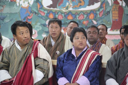 First woman governor of Bhutan Namgay Peldon, November 2011