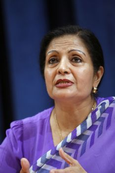 Portrait of Lakshmi Puri