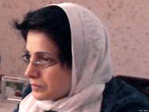 "UN Commissioner Pillay ""extremely concerned"" for Iran prisoner Sotoudeh"