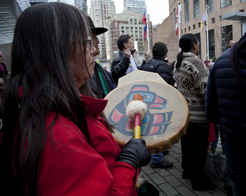 Indigenous woman chief brings Canada separation and politics together