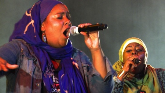 Hijab power and song proves fruitful in the UK