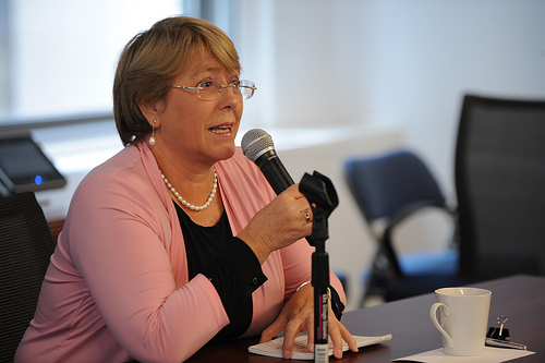 """UN Executive Director Bachelet says Egypt must """"ensure protection of women"""""""