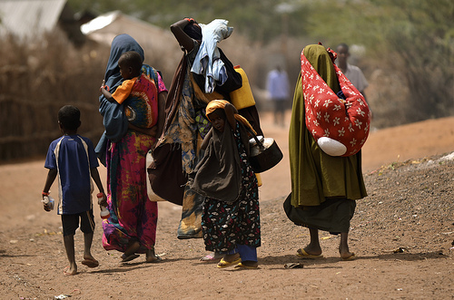 AFRICA: Sahel desert drought causes widespread displacement