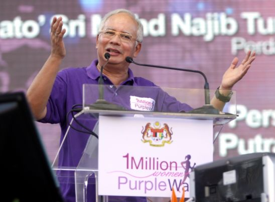 [Malaysia] Women to be 'eyes and ears of government', says Najib