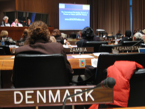 UN Commission on the Status of Women conference