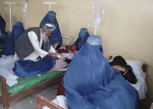 AFGHANISTAN: 74 girl students rushed to hospital after noxious gas poisoning