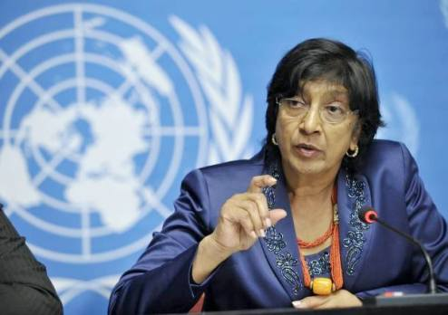 "Over decades human rights has made ""historic advances"" says UN's Navi Pillay"
