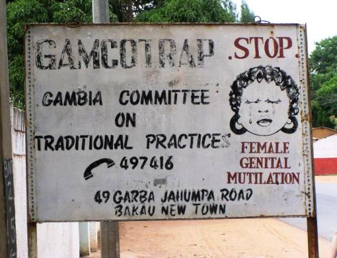 To stop FGM – Female Genital Mutilation we must first define it