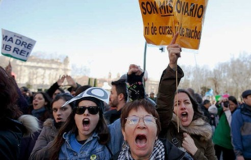 Spain's new abortion law: A new blow to women's rights