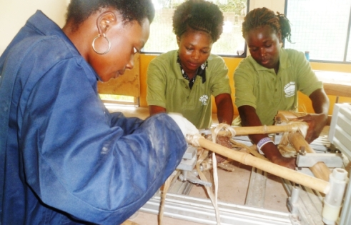 Women's ingenuity creates bamboo bikes from Ghana