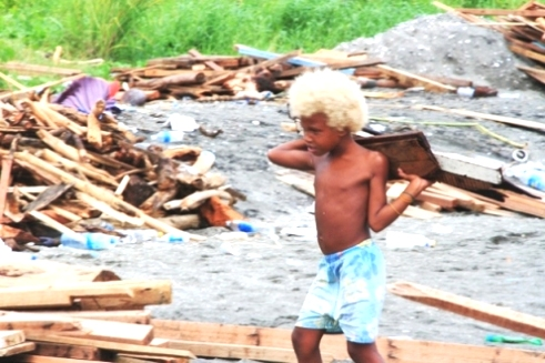 Solomon Island children & families severely impacted by floods