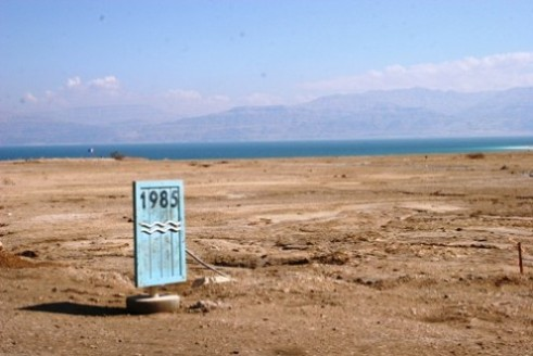 Driest season in decades hits Jordan's Dead Sea