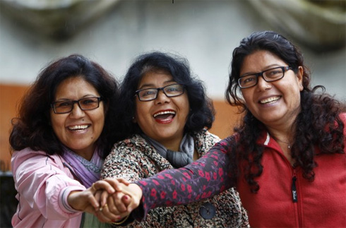 Women reach the top in Nepal's trekking industry