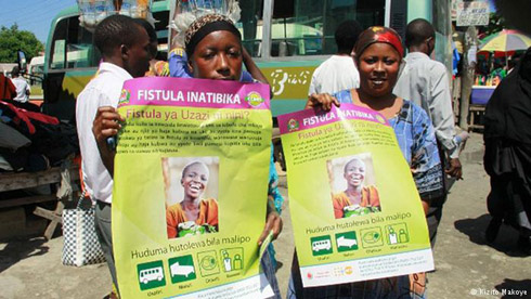 Mobile cash transfers help Tanzanians fight fistula