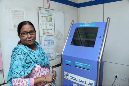 ATM-style machine lets Indian women report abuse without fear