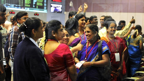 These women helped power India's mission to Mars