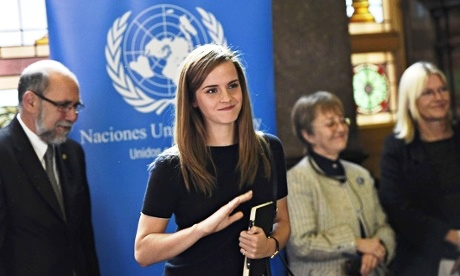 Emma Watson's UN gender equality campaign is an invitation to men, too