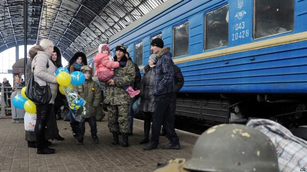 When war in Ukraine equals domestic violence at home