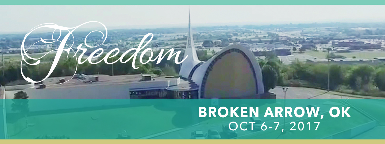 Broken Arrow. Oklahoma; Women of Grace Conference