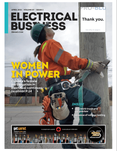 Electrical Business Magazine April 2021