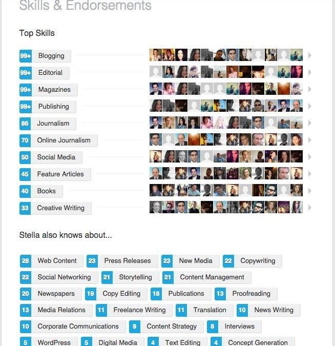 Τι μπορείς να μάθεις από τα endorsements του LinkedIn;