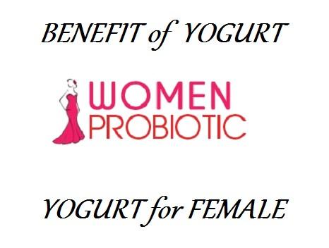 benefit of yogurt female