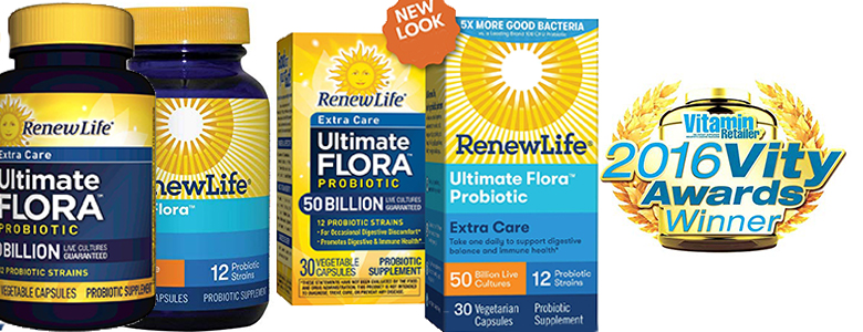 Renew Life Adult Probiotic - Ultimate Flora Probiotic for weight lose