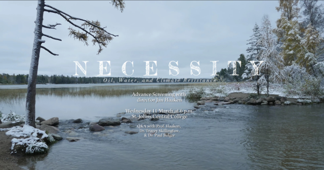 Necessity film screening information