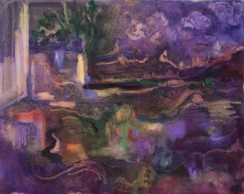 """Fantasy,"" Oil on Canvas, 20""x16"""