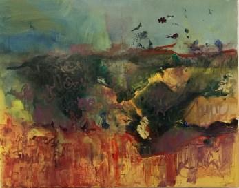 """""""Exuberance,"""" Oil on Linen, 38""""x26"""""""