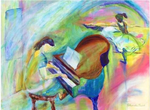 """""""Ballet Studio,"""" Oil on Linen, 24""""x18"""""""