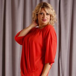 Женские блузки туники больших размеров