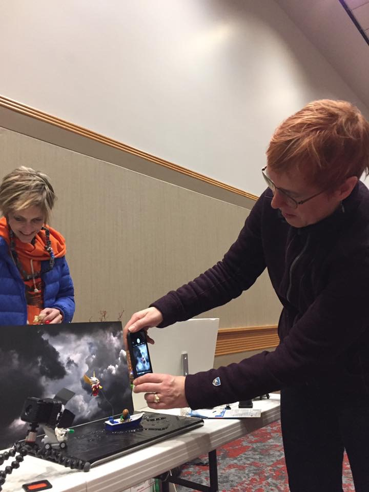 Shelly Corbett sharing photography tricks