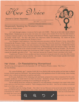 WCnewsletterFall1997