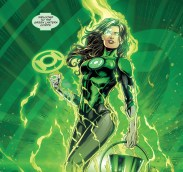 Jessica Cruz is a Latina superhero that struggles with anxiety, but she is a Green Lantern, who are defined by their willpower. She first appears in Justice League (2011) #30, but headlines her own series in Green Lanterns (2016) along with her partner, Simon Baz, who is Lebanese-American.