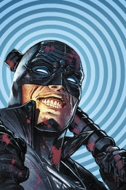 Midnighter (2015) and Midnighter and Apollo (2016) follow on the gay superhero Midnighter and his boyfriend, Apollo, in action-packed adventures. You can also check them out in The Authority (1999).