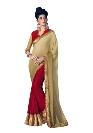 0033133_beige-and-maroon-marble-and-padded-georgette-sari