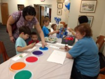 Oct 2017 child's craft caldwell library