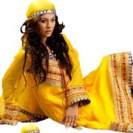 Mehndi dresses of Pakistan