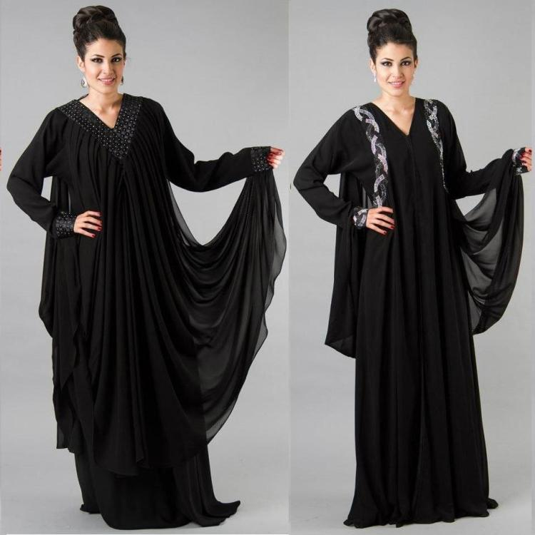 Mesmerizing Abaya Designs for Young Girls 11