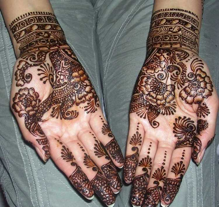 Arabic mehndidesigns for hands