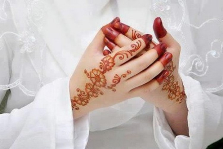 Simple Saudi Mehndi Designs For Girls