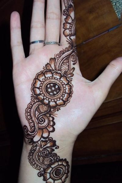 easy mehndi designs, mehndi patterns