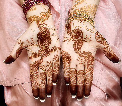 simple mehndi designs for kids hands